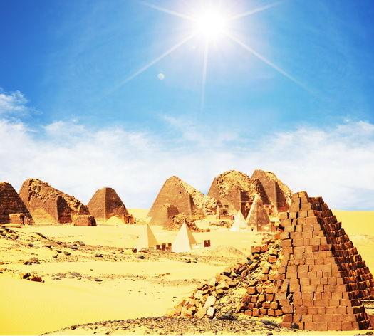 Pyramids in Sudan